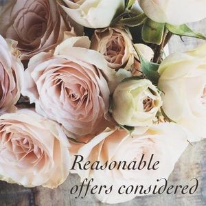 I will consider all reasonable offers💗